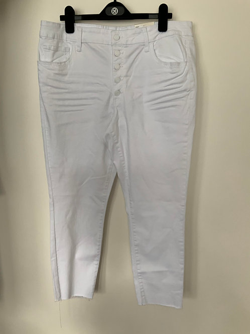 White Jeans Size 17