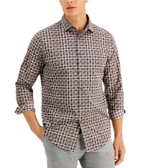 Brown Mens Casual Shirt