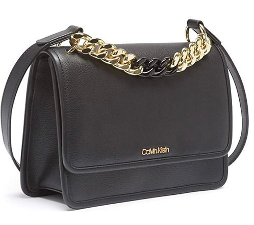 Calvin Klein Gold Strap Women's Handbag