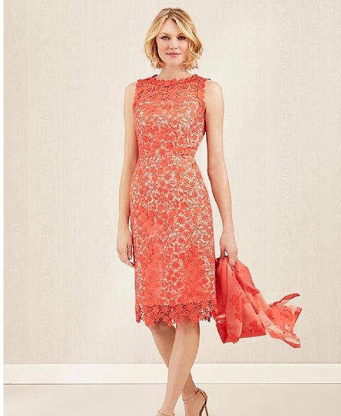 Carlisle Orange Lace Dress