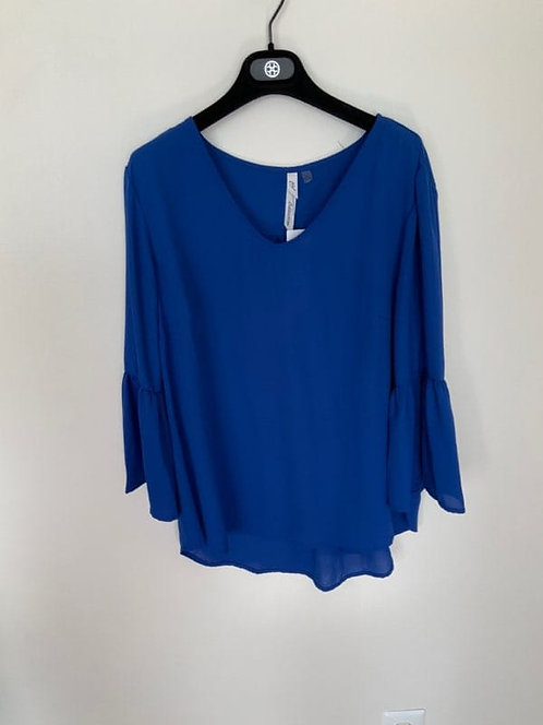Midnight Blue Blouse