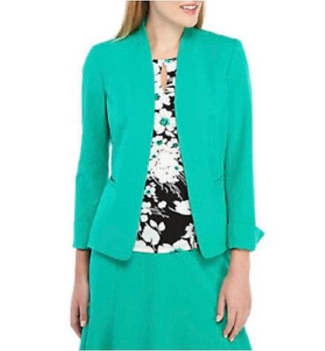 Nine West Green Women's Skirt Suit