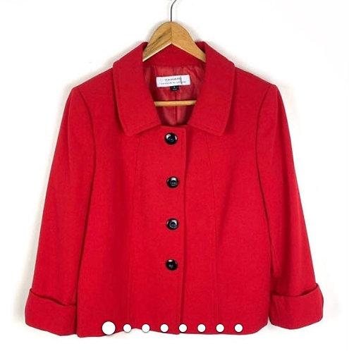 Tahari Summer Red Blazer