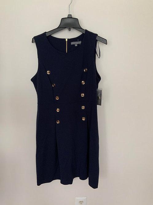 Sharagano Navy blue dress