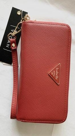 Isabelle Burnt Orange Women's Wallet