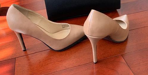 Tan Pencil Heels