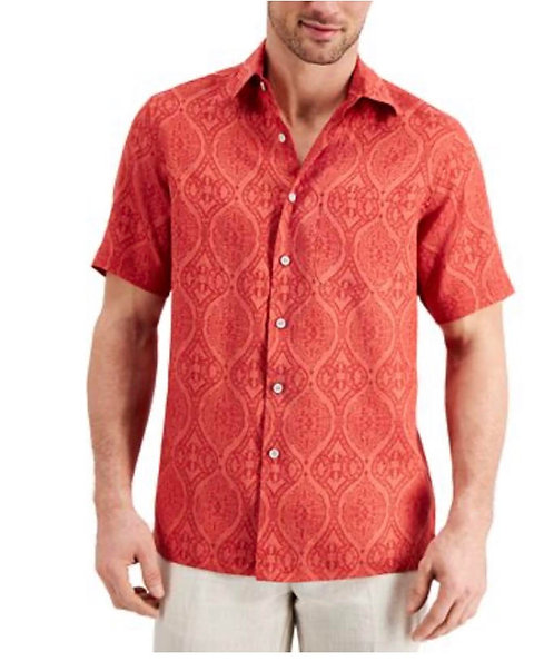 Domo Mens burn Red Shirt