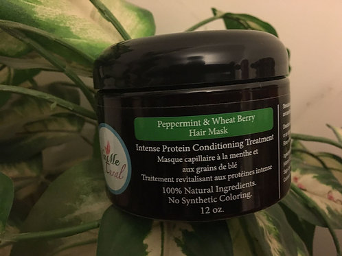 Peppermint & Wheat Berry Hair Mask