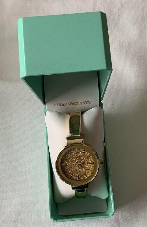 Gold rush watch