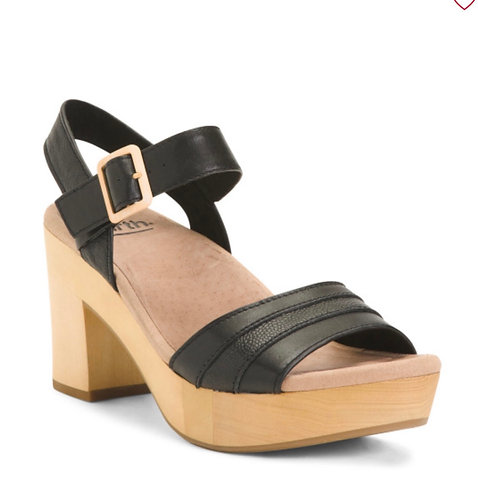 Block Platform Women's Sandals