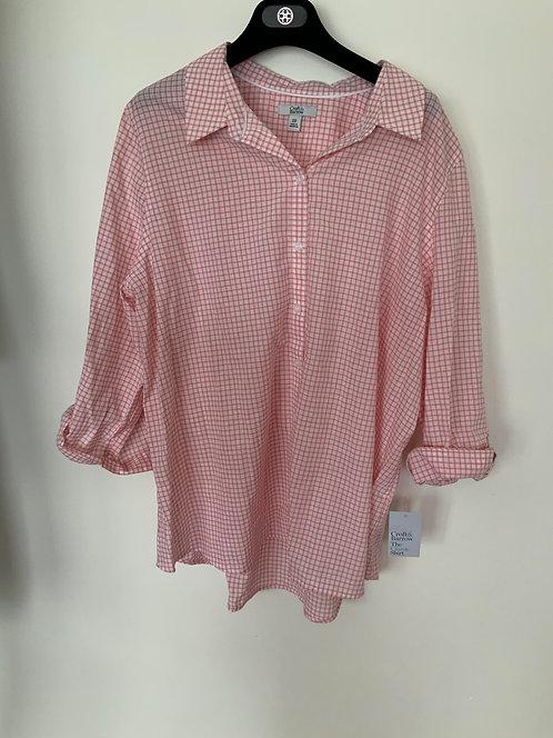 Croft & Barrow plaid shirt Size XL