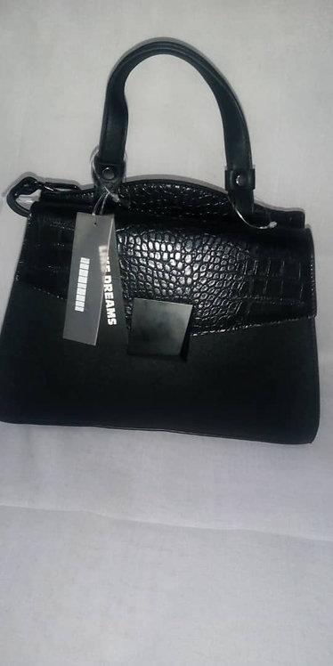 Dreams Croc Textured Handbag