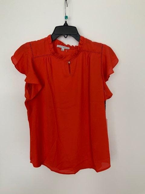 Red Autumn Blouse