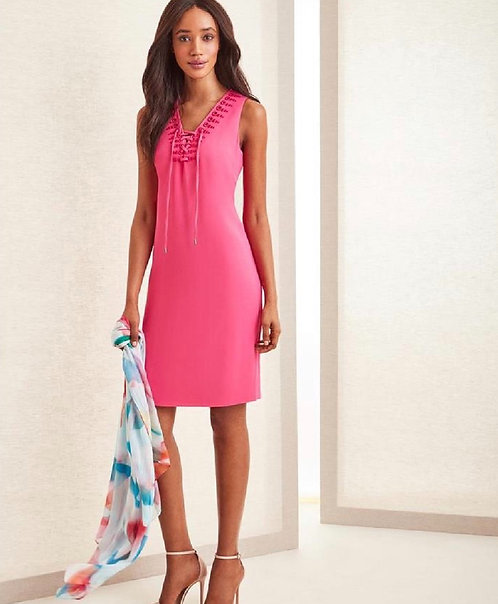Carlisle Pink Sleeveless Dress