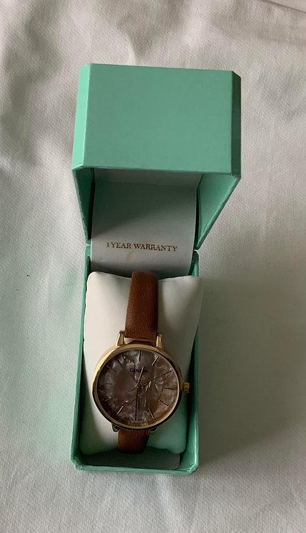 Brown Strap wrist watch