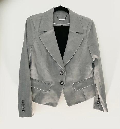 Moon Grey Blazer Set