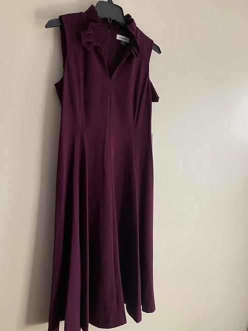 Calvin Klein  Plum Dress