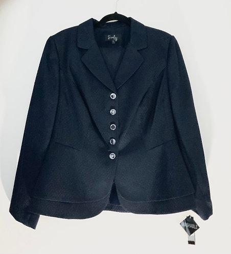 Navy Blue Skirt Suit