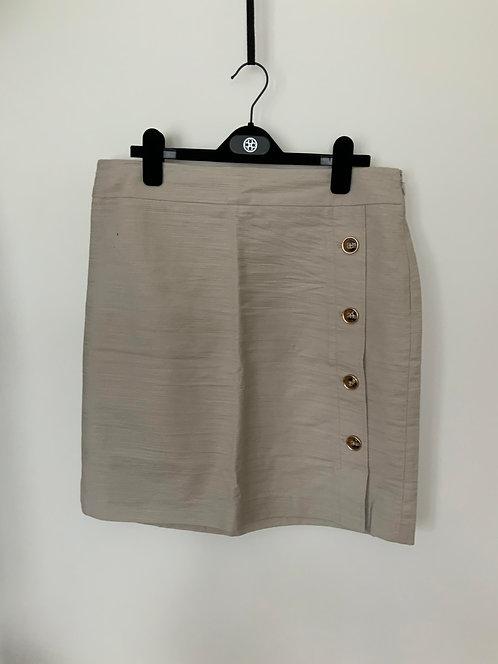 Ann Taylor khaki color skirt size 12
