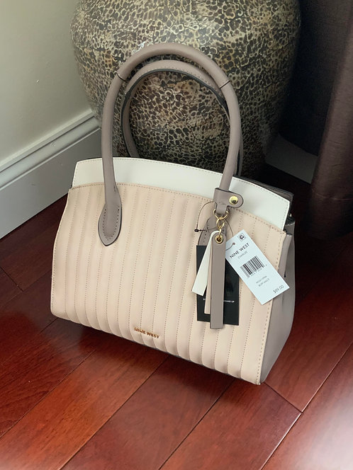 Nine West  Neutral Quilted Multi Bag