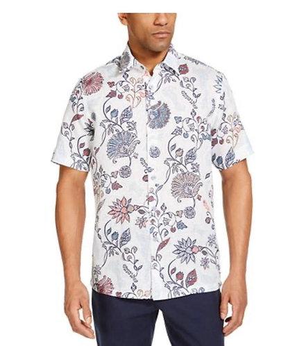 Domo Mens Floral Shirt