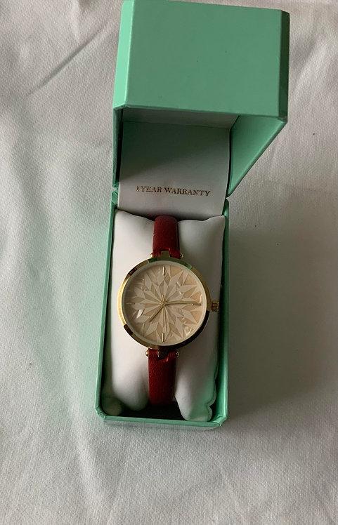 Diamond crystal watch