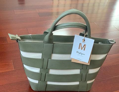 Miztique Green/canvas bag 300
