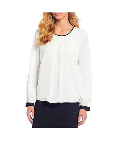 Calvin Klein black and white Top size PL