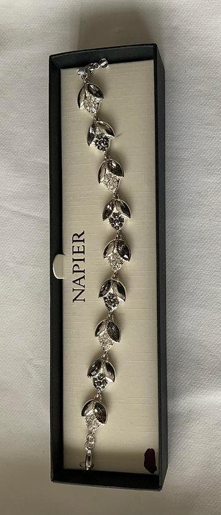 Diamond Leaf Bracelet