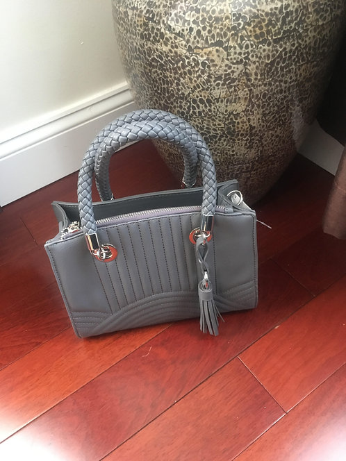 Fashion Grey Quilted Bag