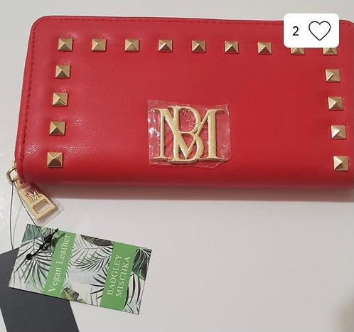 Badgley Mischka Red Wallet