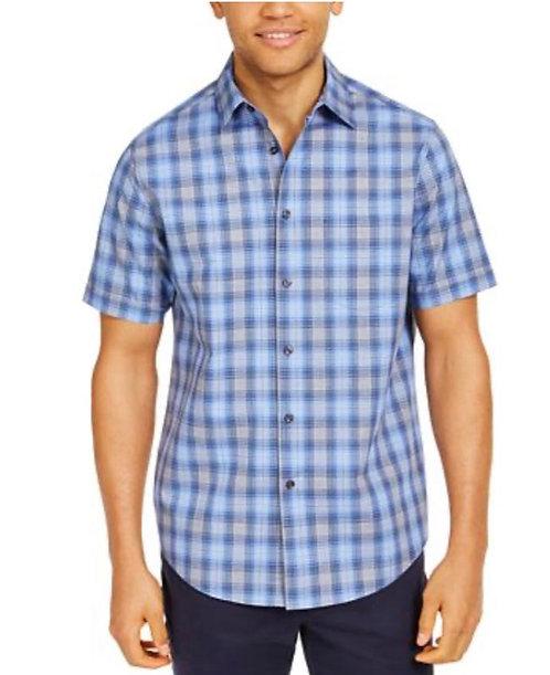 Cross Blue Mens Casual Shirt