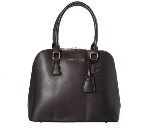 Adrienne Vittadini Black Dome Bag