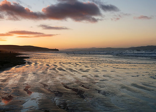 SHARON MILLAR PHOTOGRAPHIC PRINT - PORTSTEWART STRAND BEACH