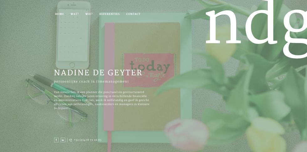 Website van NDG