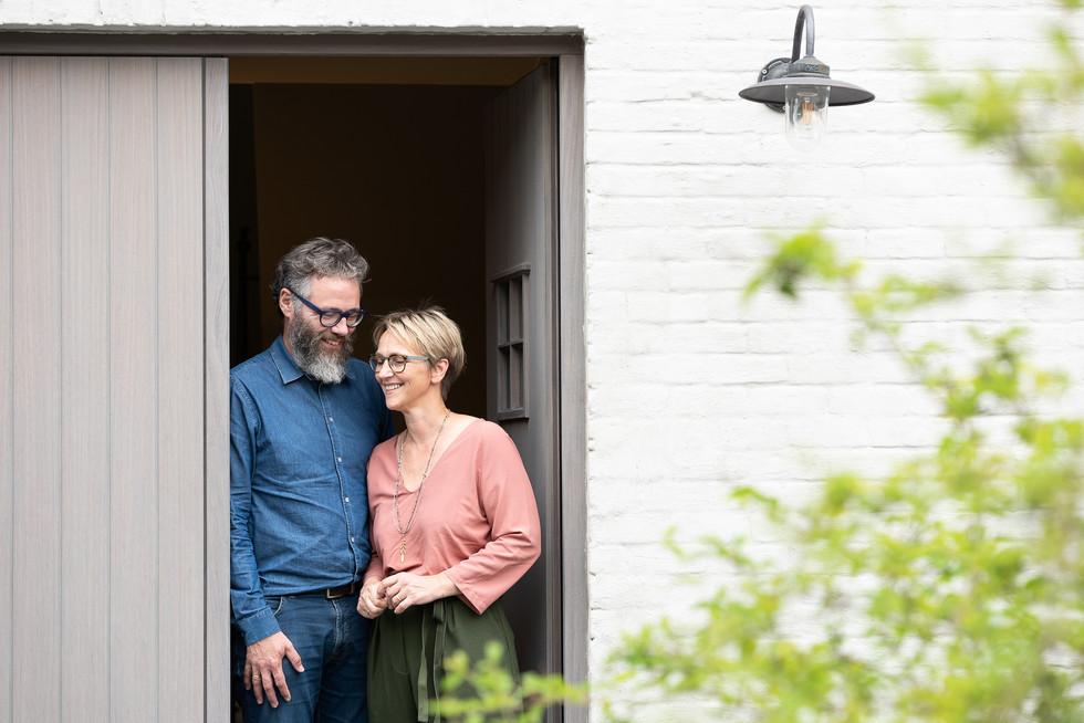 Lieven en Martine van B&B Hof Beygaert