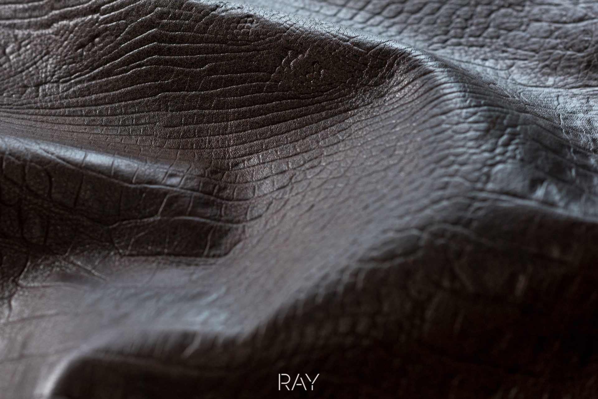 Verstee Leather detail van lederen short