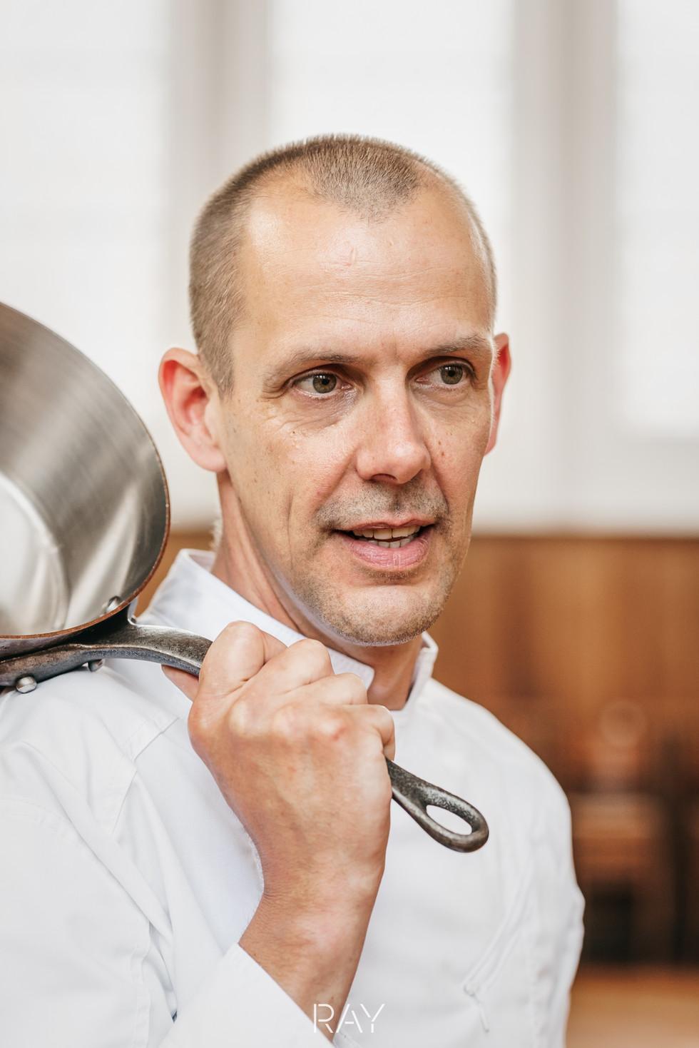 Peter kookt portret