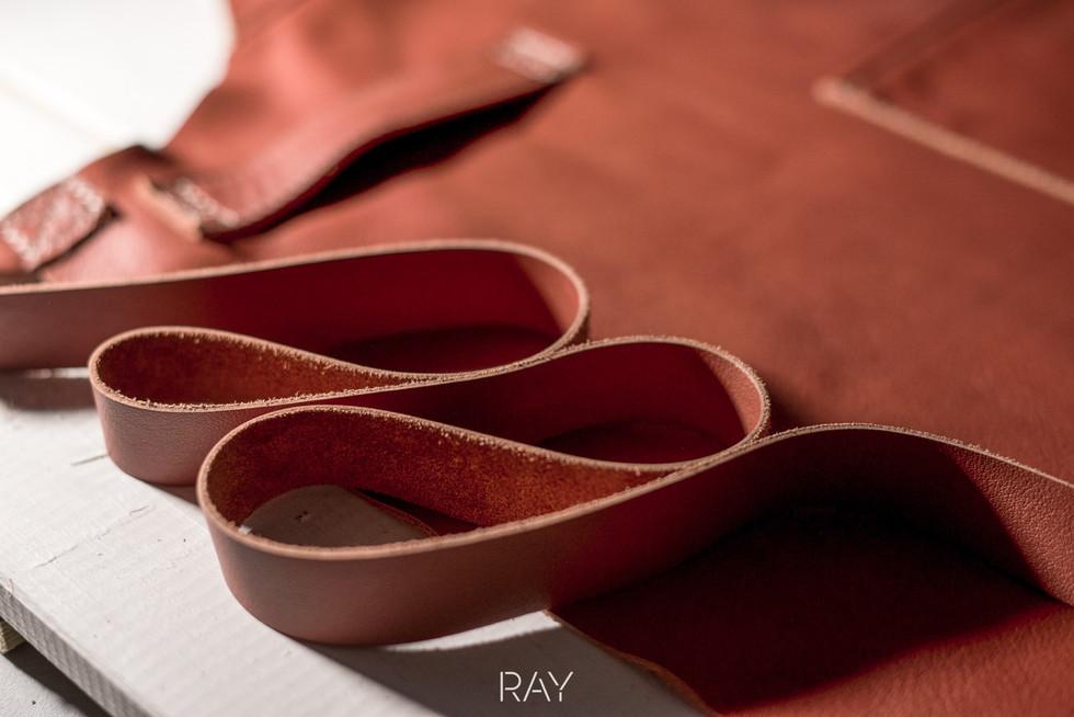 Verstee Leather detail leder