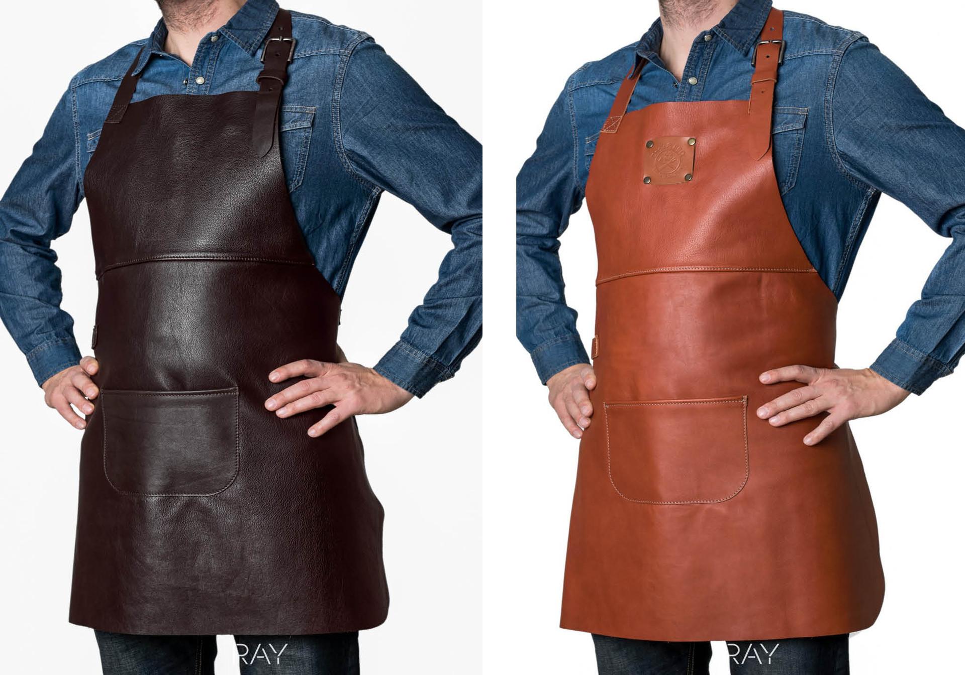 Verstee Leather  productshot in de studio op levend model.