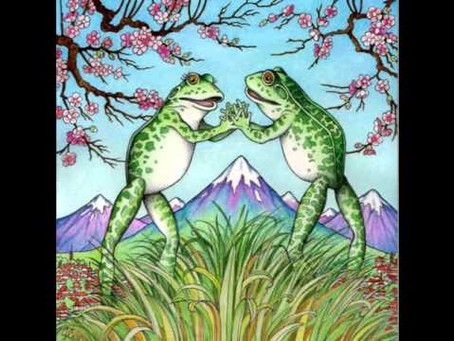 The Two Frogs - A Japanese folk tale