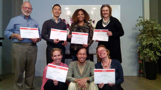 DISC Graduates with their Certificates