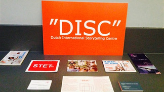 Our DISC promo table