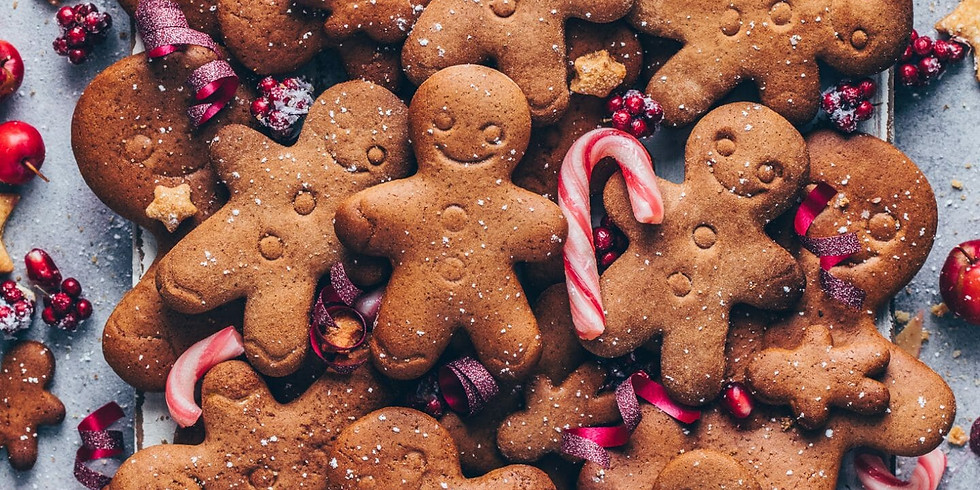 ONLINE DISC STORYTELLING CAFE - 'Sugar sweet stories for the Holidays'