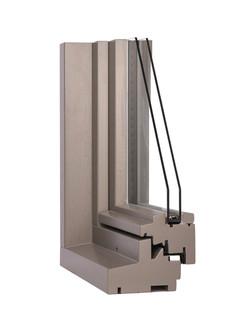 Hout-Modibloc Primo 116mm grijs