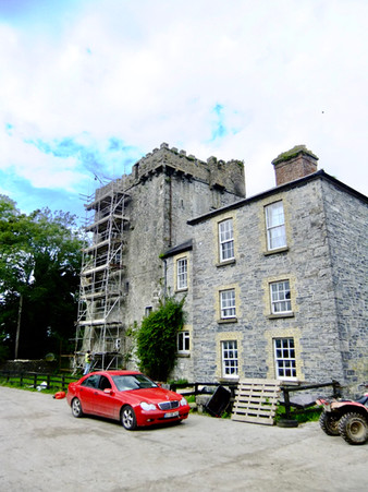 13th Century Castle & Georgian House, Co.Galway