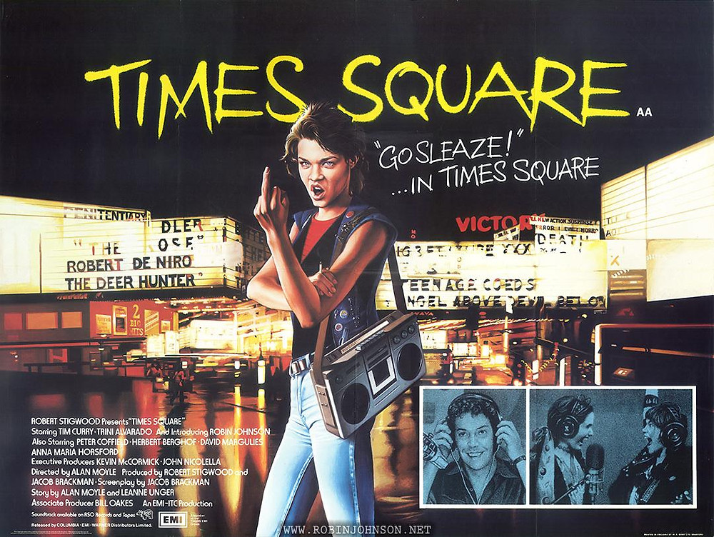 Times Square film poster
