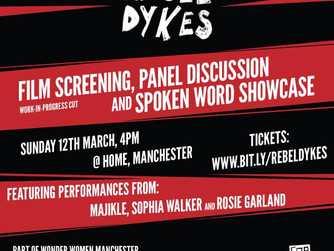 Rebel Dykes come to HOME Manchester!