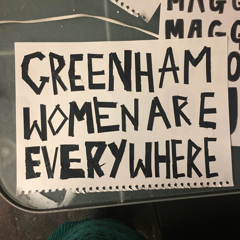 RD protest signs