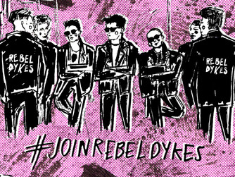 Countdown to Crowdfunder! #JoinRebelDykes